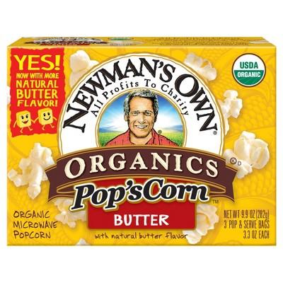 Newman's Own Butter Popcorn - 8.4oz
