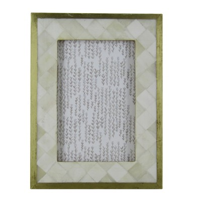 4 X6  Pieced Metal Frame Bone - Threshold™