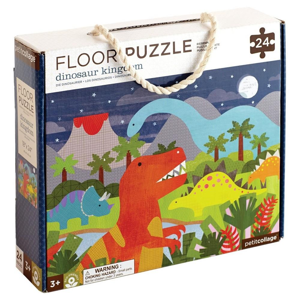 Petit Collage Dinosaur Kingdom Floor Puzzle 24pc