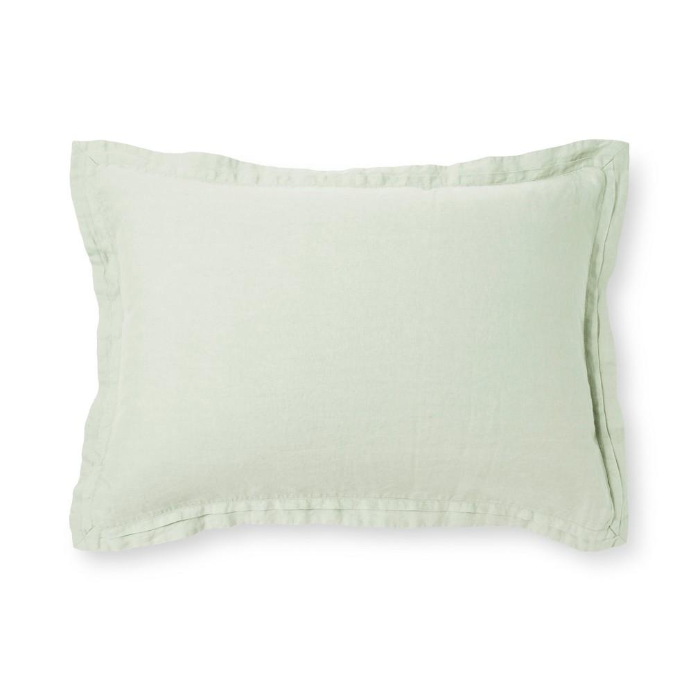 Silver Springs Lightweight Linen Pillow Sham (Standard) - Fieldcrest