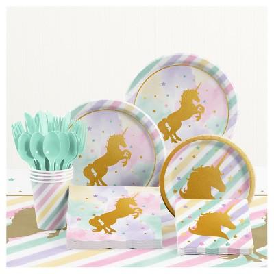 Unicorn Birthday Party Supplies Kit