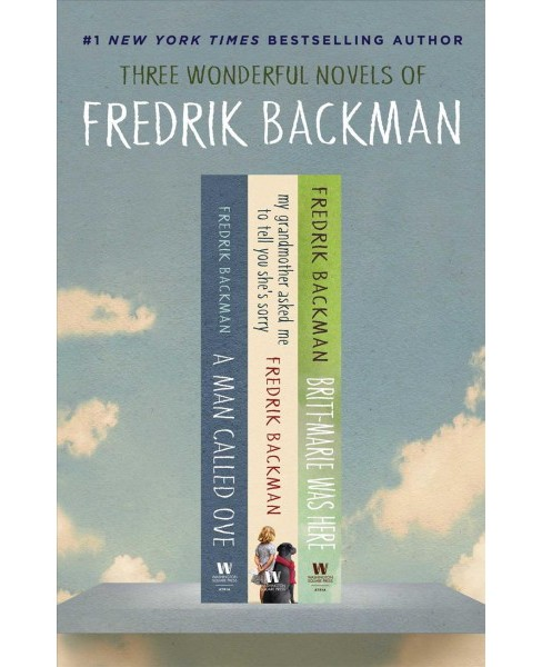 Fredrik Backman Box Set : A Man Called Ove / My Grandmother Asked Me to Tell You She's Sorry / - image 1 of 1
