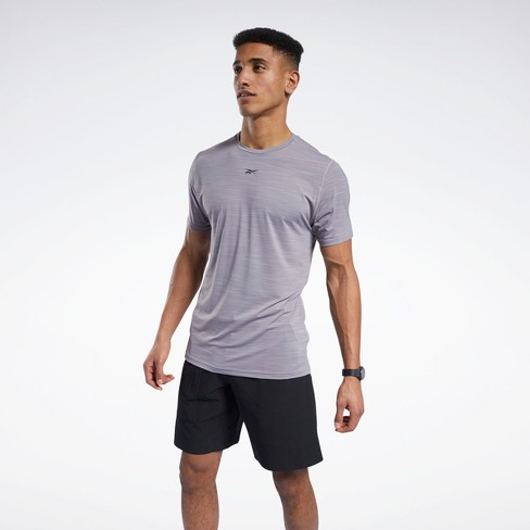 Reebok ACTIVCHILL Move Tee Mens Athletic T-Shirts - image 1 of 4