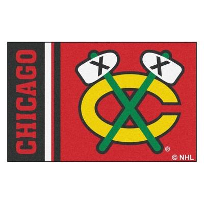 39576451 NHL Chicago Blackhawks Uniform Starter Rug 19
