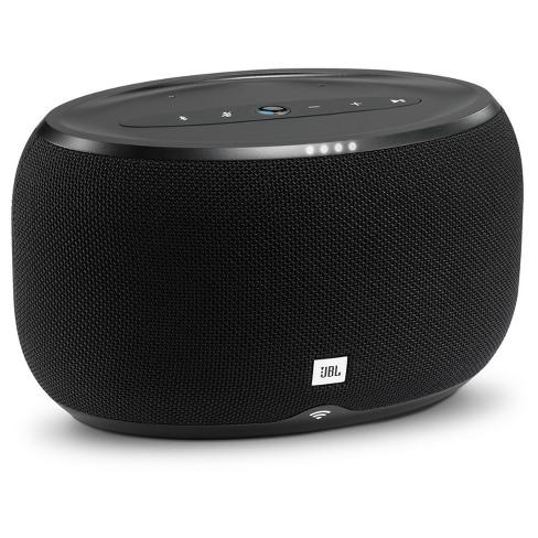 JBL Link 300 Bluetooth Speaker with Google Assistant Built-in - Black (JBLLINK300BLKUS) - image 1 of 3