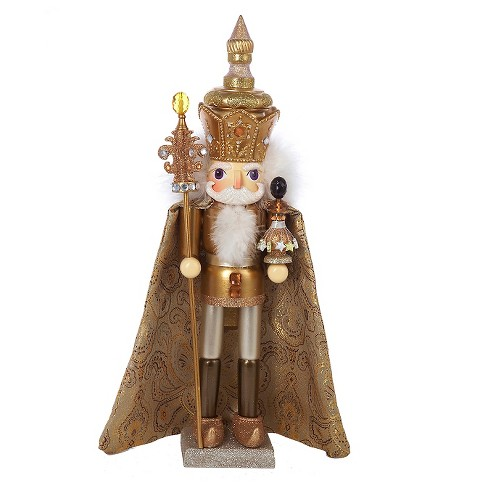"Hollywood King Nutcracker Gold 18"" - image 1 of 1"