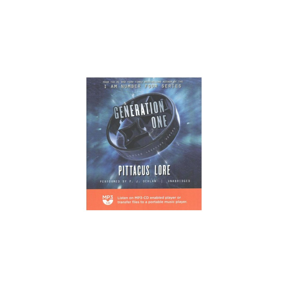 Generation One (MP3-CD) (Pittacus Lore)