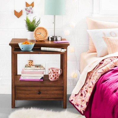 Vibrant College Bedding with Functional Nightstand Collection - Room Essentials™