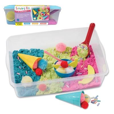 Ice Cream Shop Sensory Bin - Creativity for Kids
