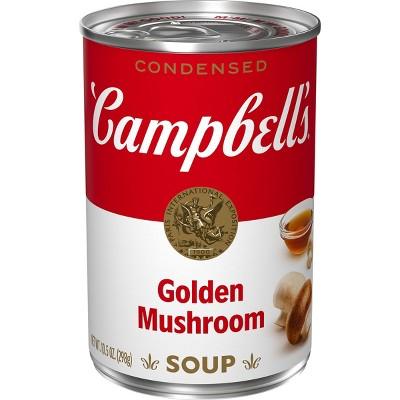 Campbell's Condensed Golden Mushroom Soup - 10.5oz