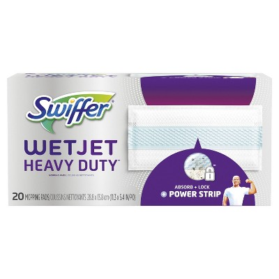 Swiffer Wet Jet Hardwood Floor Spray Mop Pad Refill Extra Power - 20ct