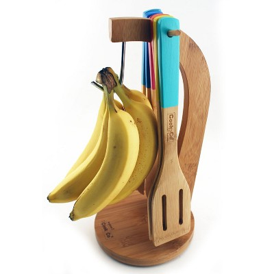 BergHOFF CooknCo 7 Pcs Bamboo Banana Hanger and Utensil Set