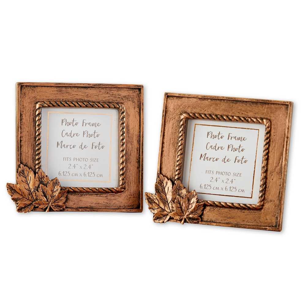 12ct Kate Aspen Copper Frame with Leaf
