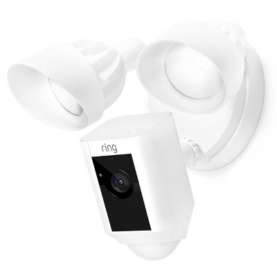 Ring Wired Floodlight Cam - White