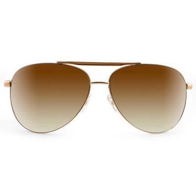 Men's Aviator Sunglasses - Gold