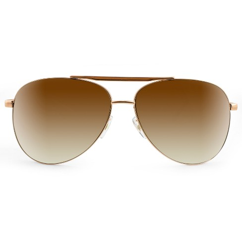 Men's Aviator Sunglasses - Gold - image 1 of 3