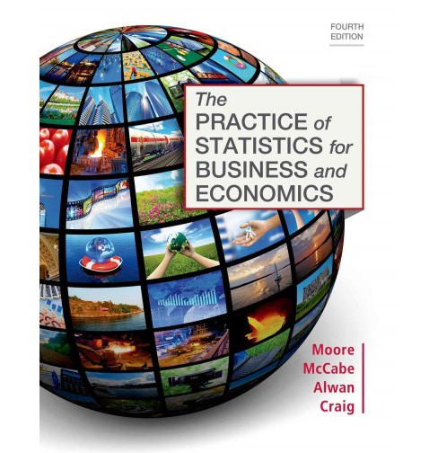 Practice of Statistics for Business and Economics (Hardcover) (David S. Moore & George P. McCabe & Layth - image 1 of 1