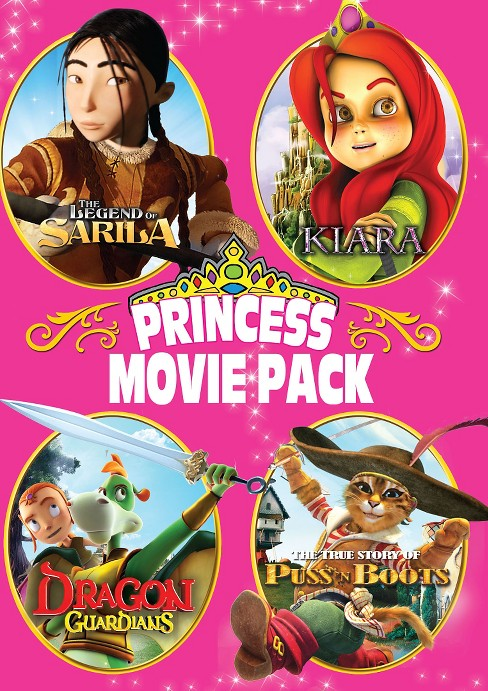 Princess movie collection (DVD) - image 1 of 1