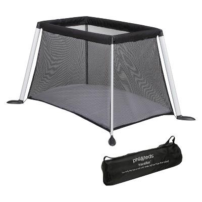 phil&teds Portable Traveller Crib - Black