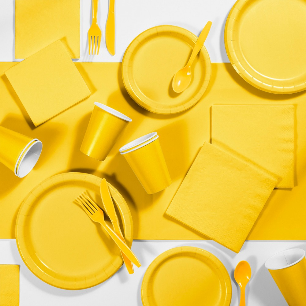 245pk Party Supplies Kit Dark Yellow Reviews