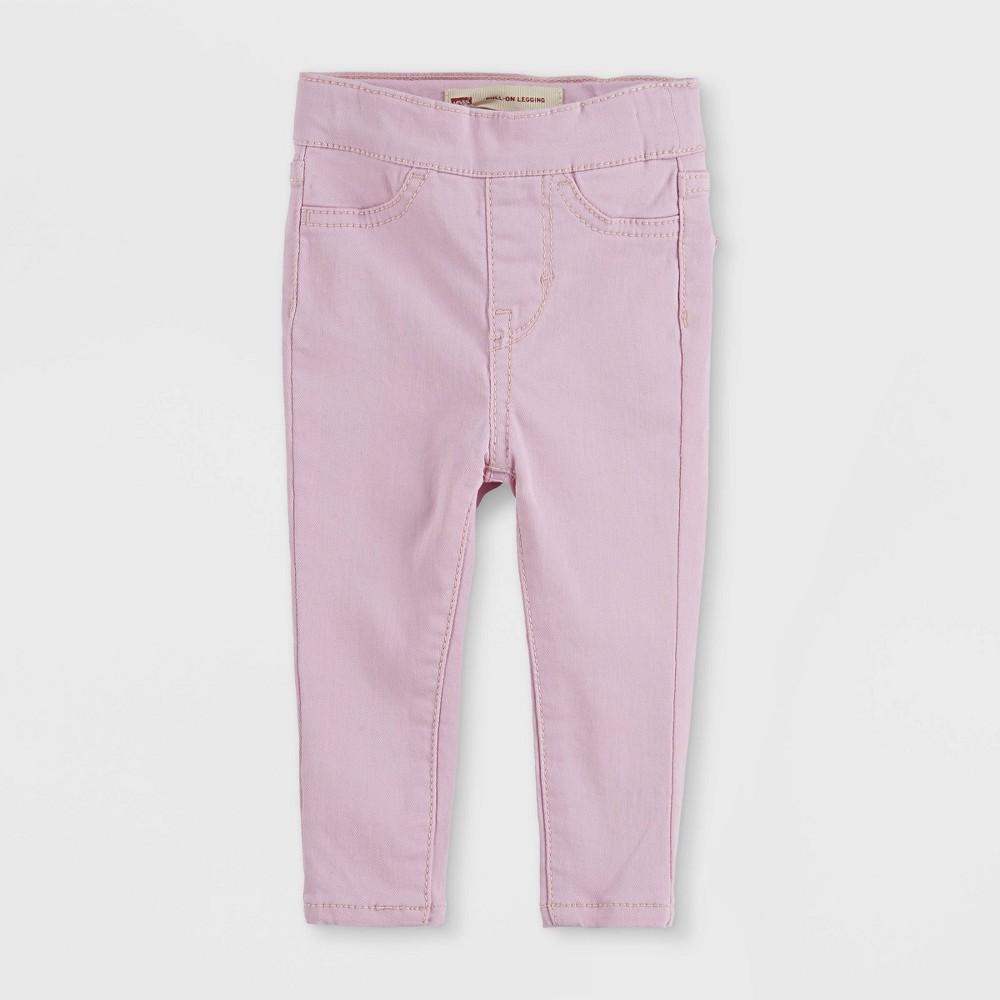 Levi 39 S 174 Baby Girls 39 Pull On Leggings Pink 24m