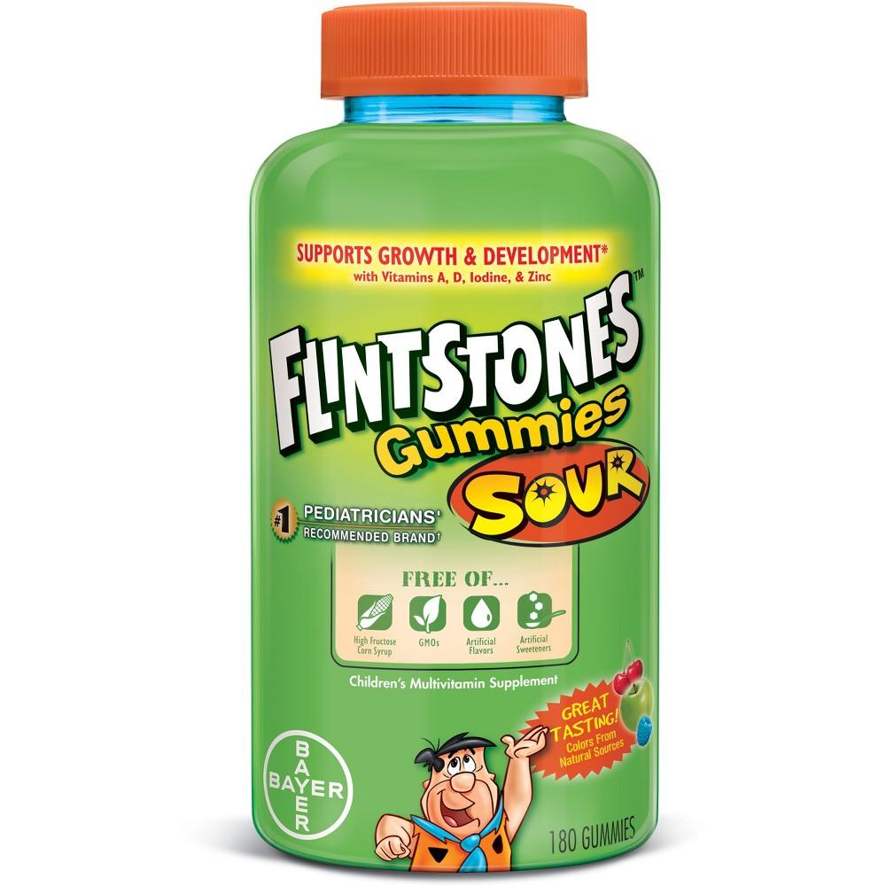 Flintstones Children's Complete Multivitamin Gummies - Sour - 180ct