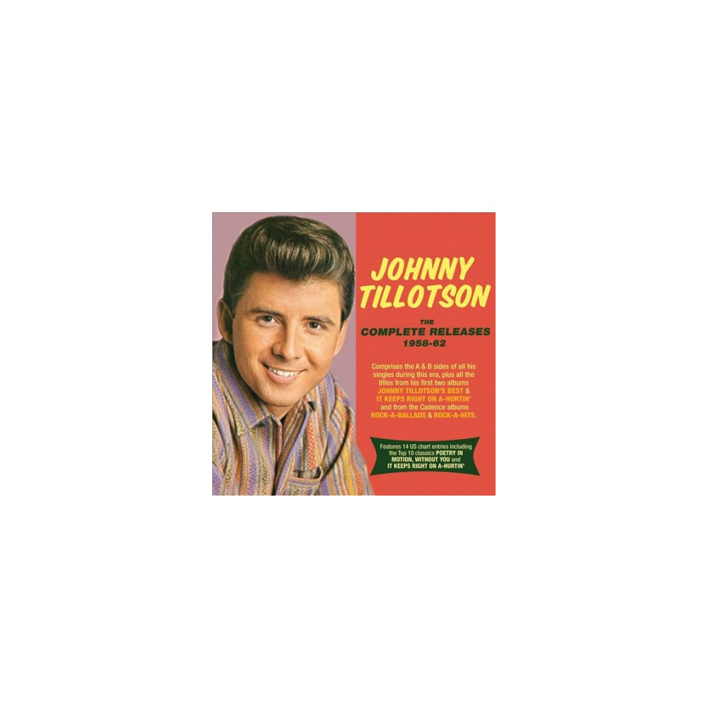 Johnny Tillotson - Complete Releases:1958-1962 (CD)