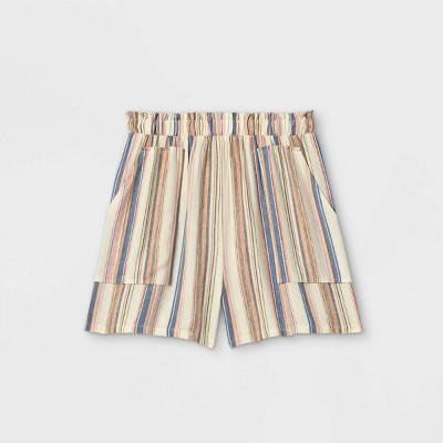 Girls' Smocked Waist Shorts - art class™