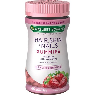Optimal Solutions Hair, Skin & Nails Gummies - 40ct