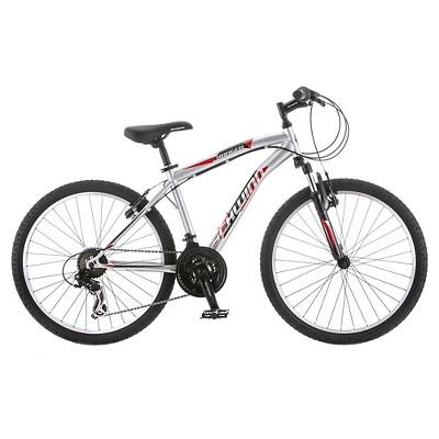 Schwinn Boy Ranger 24  Mountain Bike- Silver/Red