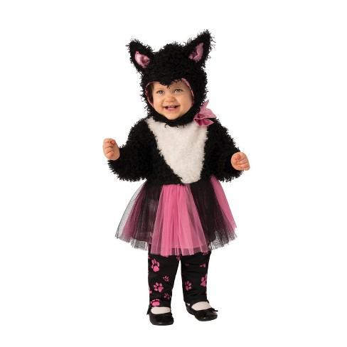 Baby Girls' Little Kitty Tutu Halloween Costume 6-12M - image 1 of 1
