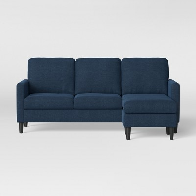 Bellingham Sofa With Chaise Dark Blue - Project 62™