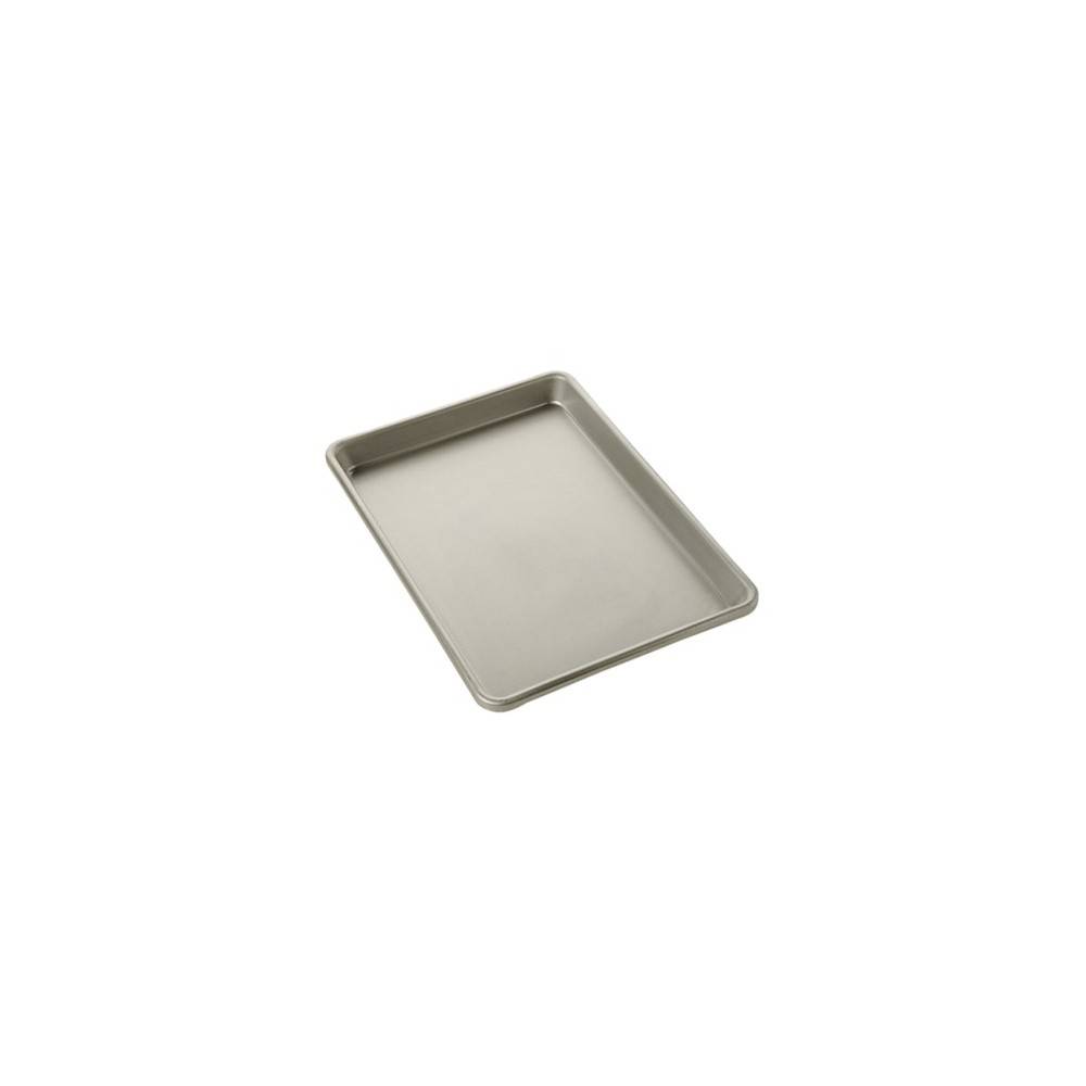 Image of Chicago Metallic Small Jelly Roll Pan-12.2 x 8.7 Aluminized Steel, Silver