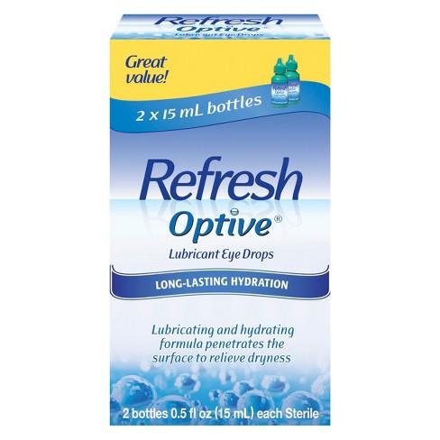 Refresh Optive™ Moisturizing Dry Eye Solution - 2ct - image 1 of 1