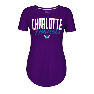 NBA Charlotte Hornets Women's Bold Script T-Shirt