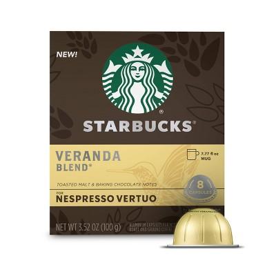 Starbucks for Nespresso Vertuo Veranda Blend Light Roast Coffee - 3.52oz/8ct