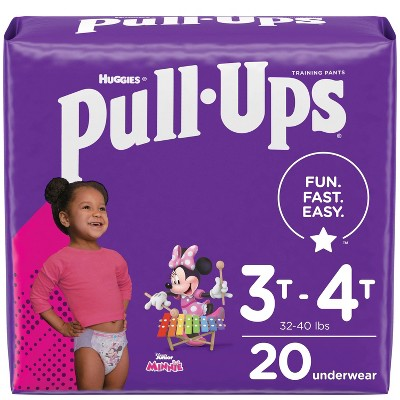 Huggies Pull Ups Girls' Potty Training Pants - (Select Size & Count)