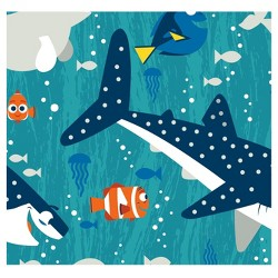 Finding Dory and Friends Boy Fleece Fabric by the Yard