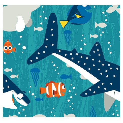 Finding Dory and Friends Boy Fleece Fabric by the Yard - image 1 of 1