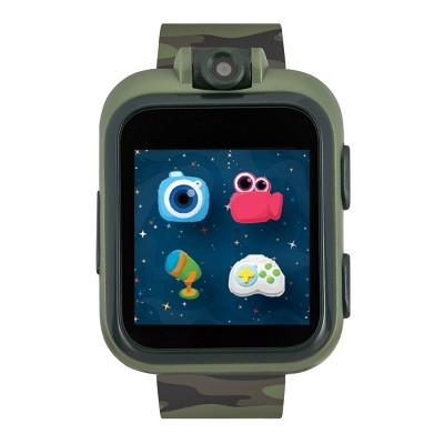 iTouch Playzoom Kids Smartwatch - Green Camo Strap