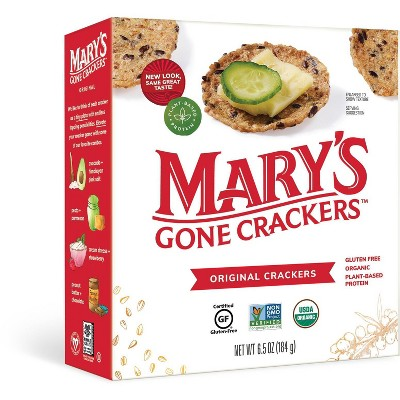 Mary's Gone Crackers Alt Snack Crackers - 6.5oz