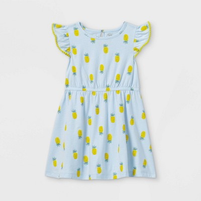 Toddler Girls' Pineapple Tank Dress - Just One You® made by carter's Blue