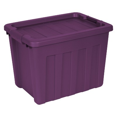 Sterilite 18 Gal Ultra Tote Exotic Purple