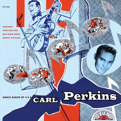 Carl perkins - Dance album of carl perkins (Vinyl) - image 1 of 1