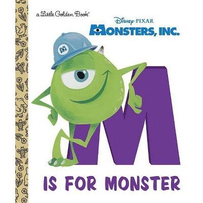 Monsters, Inc.: M Is for Monster - (Little Golden Books (Random House)) (Hardcover)