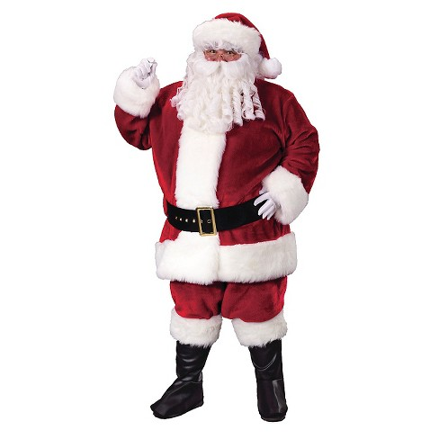 Men's Deluxe Santa Costume - image 1 of 1