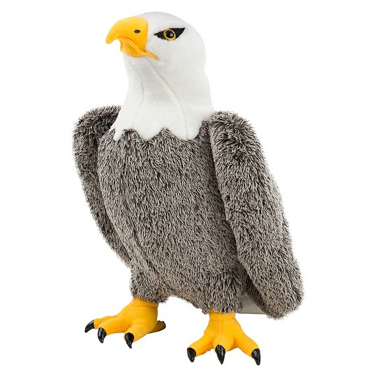 Melissa & Doug Bald Eagle - Lifelike Stuffed Animal (17 inches tall) image number null