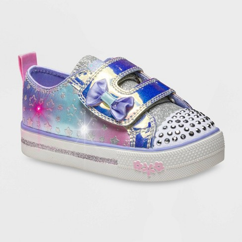 Toddler Girls' S Sport by Skechers Penney Light-Up Sneakers - Lilac - image 1 of 3