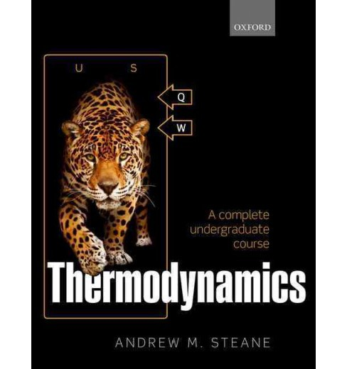 Thermodynamics : A Complete Undergraduate Course (Hardcover) (Andrew M. Steane) - image 1 of 1