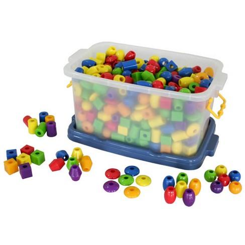 Joyn Toys Jumbo Lacing Beads  - 360 Pcs - image 1 of 3